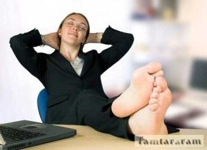 Безделие на работе