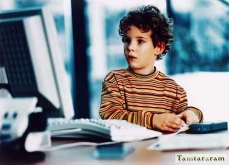 Влияние компьютера на детей
