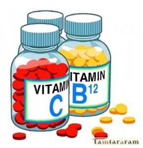 Употребление витаминов